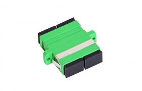 Adapter światłowodowy SC/APC SM duplex
