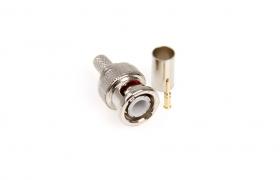 Wtyk BNC 75 zaciskany na kabel RG-59