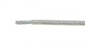 Linka stalowa LS-3 PVC 3mm-1m