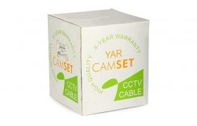 Kabel CCTV CAMSET YAR 75-0.59/3.7+2x0.50 100m wewnętrzny