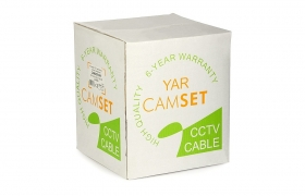 Kabel CCTV CAMSET YAR PE 75-0.59/3.7+2x0.50 100m zewnętrzny