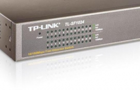 TP-LINK switch TL-SF1024 24p 10/100Mbps RACK 19