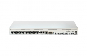MikroTik RouterBoard 1100AHx2 level6 1U Rack