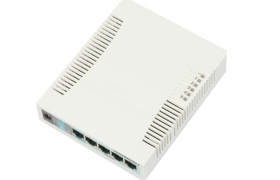 Mikrotik RouterBoard 260GS 5x Gigabit Ethernet SwitchOS