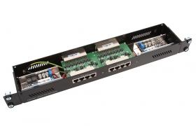 Netprotector PoE NP-2x4P-PN-1U