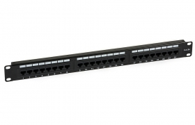 Patch Panel UTP 24p kat.5e RJ-45