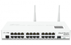 MikroTik RouterBOARD Cloud Router Switch CRS125-24G-1S-2HnD-IN