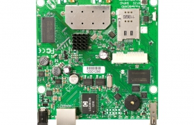 MikroTik RouterBoard RB912UAG-2HPnD level4 802.11b/g/n, 2x MMCX