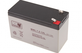 Akumulator MWL 7,2Ah/12V MW Power Long Life