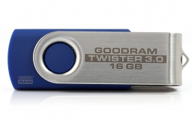 PENDRIVE GOODRAM FLASHDRIVE 16GB USB 3.0 TWISTER
