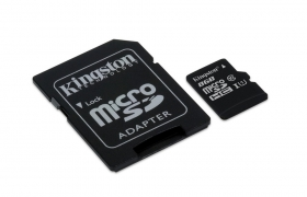 KINGSTON MICRO SD SDC10/8GB + ADAPTER