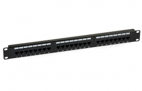 Patch Panel UTP 24p kat.6e RJ-45