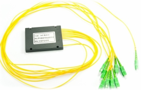 Splitter PLC 1:8 ABS box SM 2mm 1m SC/APC