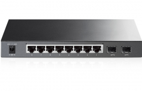 TP-LINK switch TL-SG2210P Smart PoE 8 portowy 10/100/1000Mbps + 2xSFP