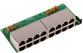 Adapter PoE 8p Gigabit ADAG-8P v.2