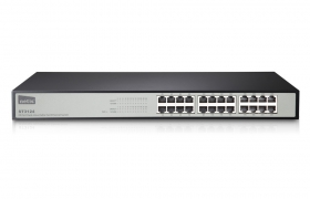 NETIS SWITCH ST3124 24p 10/100MB RACK 19