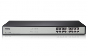 NETIS SWITCH ST3116G 16p 10/100/1000MB RACK 19