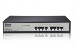 Netis PoE Switch PE6108G 8p 10/100/1000MB RACK 19