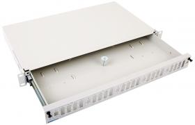 Przełącznica światłowodowa FT 1U wysuwana (prowadnice) 12-48