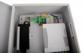 Szafka światłowodowa TVcam 2xSC Duplex 24J