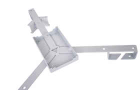 Stelaż zapasu kabla napowietrznego SZ-3 trójramienny