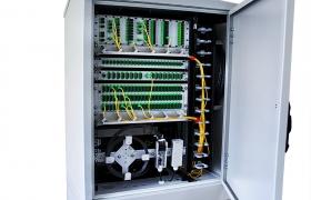 Szafa telekomunikacyjna zewnętrzna 18U dwudostępowa 1100/800/600