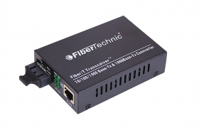 FIBERTECHNIC Media Konwerter Gigabit MM 850nm SC duplex 550m