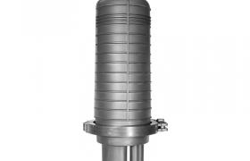 Mufa światłowodowa pionowa DOME01 48J + akcesoria