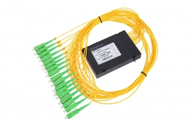 Splitter PLC 1:16 ABS box SM 2mm 1m SC/APC
