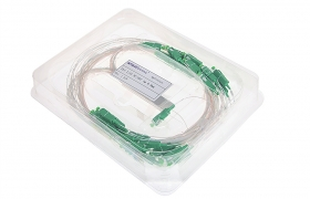 Splitter PLC 1:32 SC/APC 900um 1m (STEEL BOX) FT