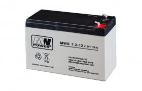 Akumulator 7,2Ah/12V MW Power