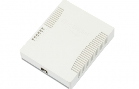 MikroTik RouterBoard Cloud Smart Switch CSS106-5G-1S ( RB260GS ) 5 PORTOWY  10/100/1000Mbps SFP