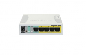 MikroTik RouterBoard Cloud Smart Switch CSS106-1G-4P-1S ( RB260GSP )  5 PORTOWY  10/100/1000Mbps SFP PoE