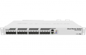 Mikrotik RouterBoard Cloud Router Switch CRS317-1G-16S+RM dual boot