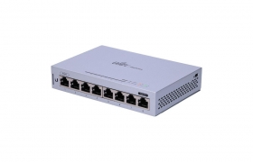 Ubiquiti US-8 Unifi Switch 8p Gigabit, PoE Passthrough, Zarządzalny L2