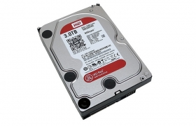 Dysk HDD WD RED 3TB WD30EFRX SATA III 64MB Cache
