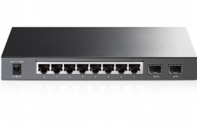 TP-LINK switch T1500G-10PS Smart PoE 8 portowy 10/100/1000Mbps + 2xSFP