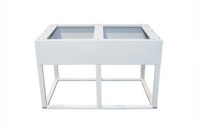Cokół aluminiowy do szaf termoizolowanych dwupłaszczowych Fibertechnic 1240/745