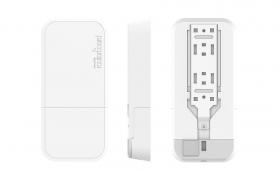 MikroTik wAP 60G AP, 1x Gbit LAN, 802.11ad (60 GHz), L4 (RBwAPG-60ad-A)