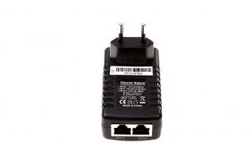 Zasilacz PoE 24V/1A dogniazdowy z LED