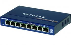 NETGEAR switch GS108GE ProSafe 8 portowy 10/100/1000Mbps